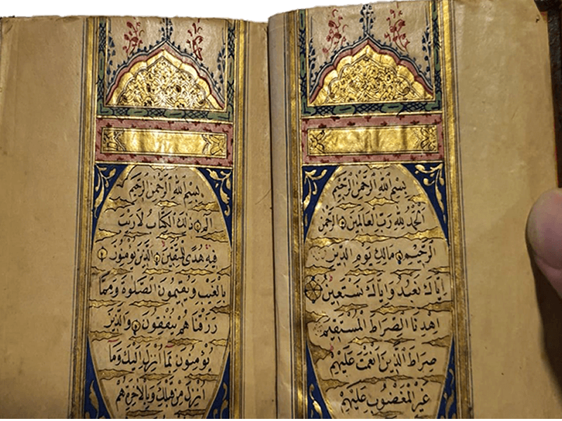 El yazma Kur'an-ı Kerim ilanıdır
