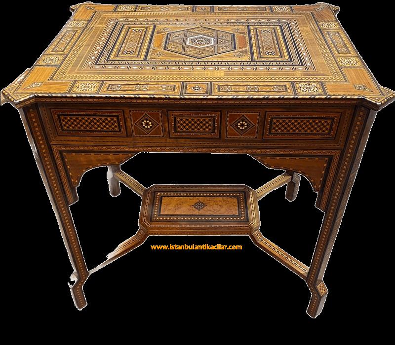 Antika masa alımı ilanıdır